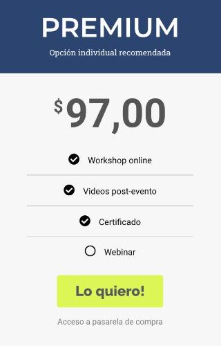 acceso premium workshop redes sociales para tu negocio
