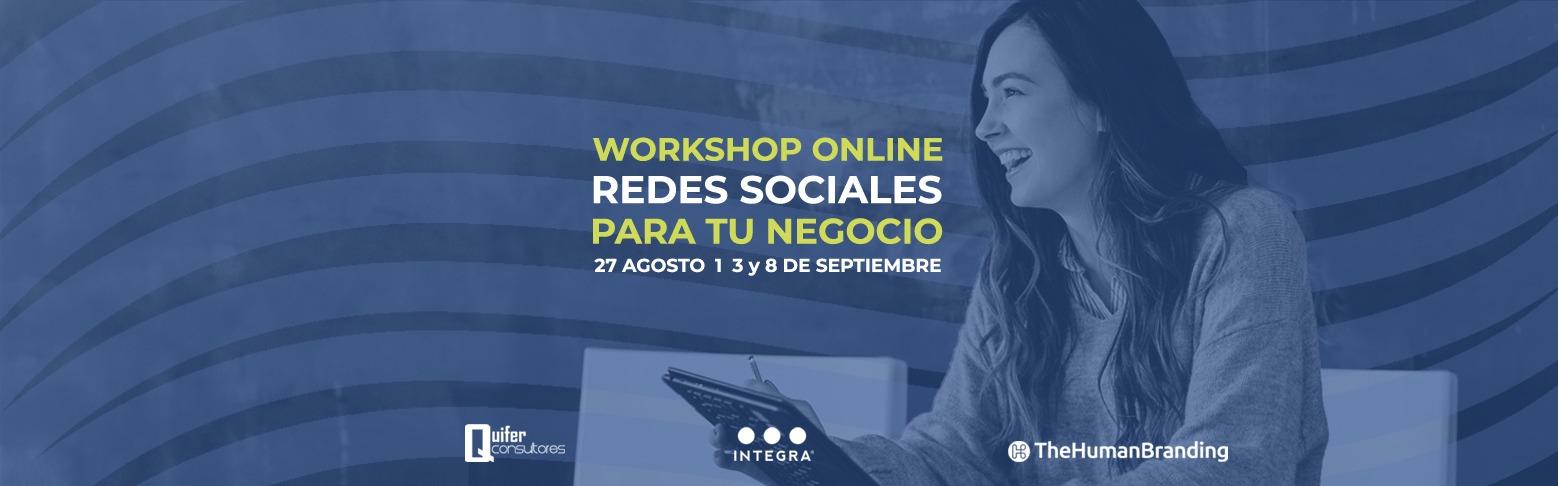 workshop redes sociales para tu negocio
