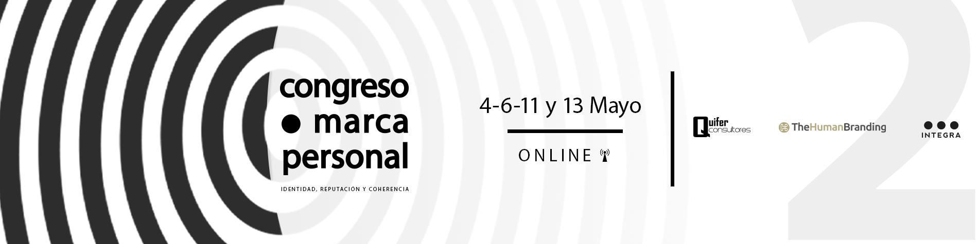 Congrés marca personal en línia, 2o edició, Maig 2021