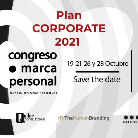 Plan CORPORATE 2021 Congreso Marca Personal Online