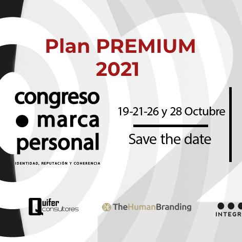 Plan Premium 2021 Congreso Marca Personal Online